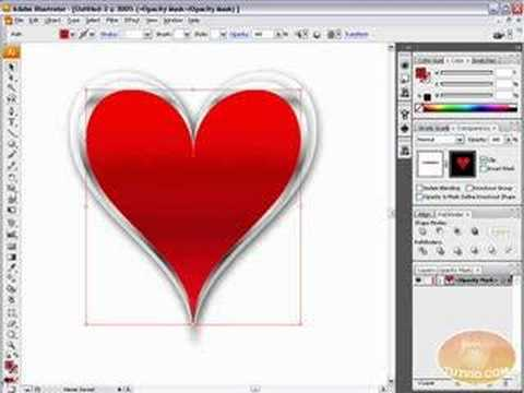 Draw Vector Heart Artwork: Adobe Illustrator Tutorial