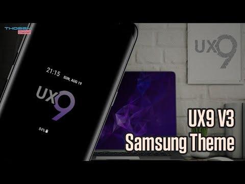 UX9 V3 Theme | Samsung Theme | Oreo & Nougat