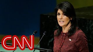 Nikki Haley threatens to pull US funding to the United Nations