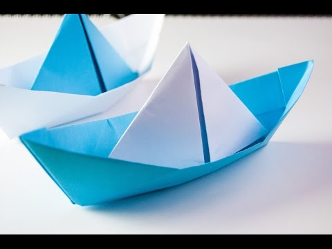 how to make origami boat