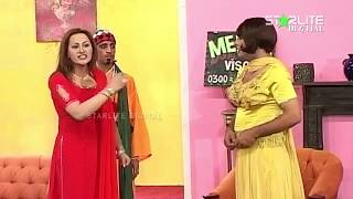Best Of Nargis and Zafri Khan New Pakistani Stage Drama Full Comedy Clip