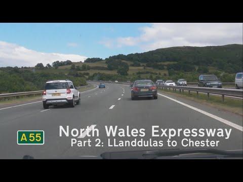 [GB] A55 North Wales Expressway, Part 2: Llanddulas - Chester