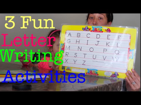 3 Fun Preschool Letter Writing Activities