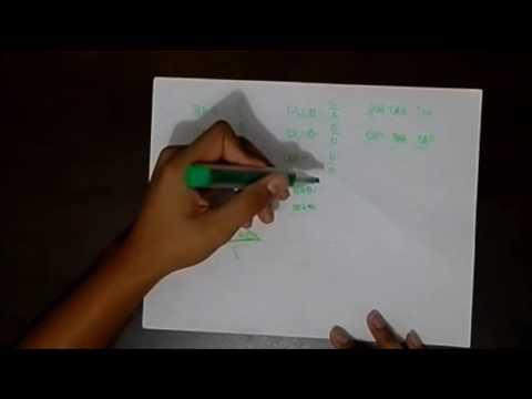 6 trigonometric ratios of acute angle