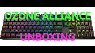 Ozone Alliance Keyboard Unboxing (gaming keyboard)