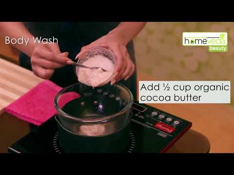 Make Your Own Body Wash At Home | Natural Skin Care - Homeveda Remedies