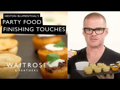 Countdown to Christmas   Heston's Party Food Finishing Touches   Waitrose