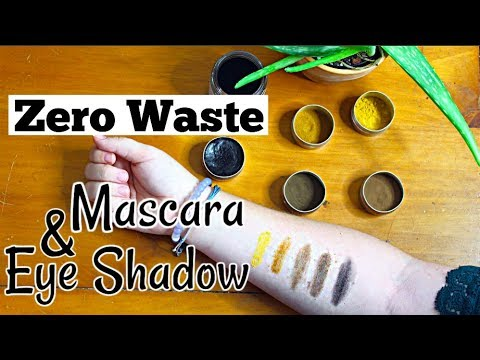 DIY Natural Mascara and Eye Shadow  | Zero Waste Makeup