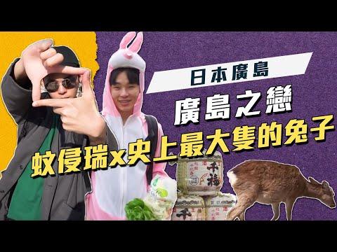 「 帶你趣吹否 」#展榮展瑞 │廣島之戀❤️ 蚊侵瑞x史上最大隻的兔子