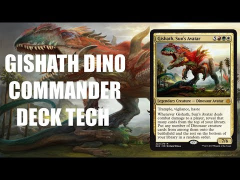 Commander Deck Tech: Gishath's Rampage