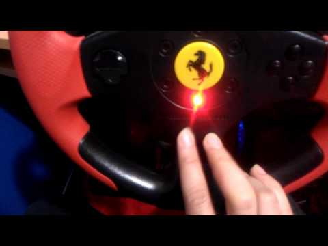 Thrustmaster Ferrari Red Legend Racing Wheel Review