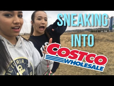 SNEAKING INTO COSTCO?!