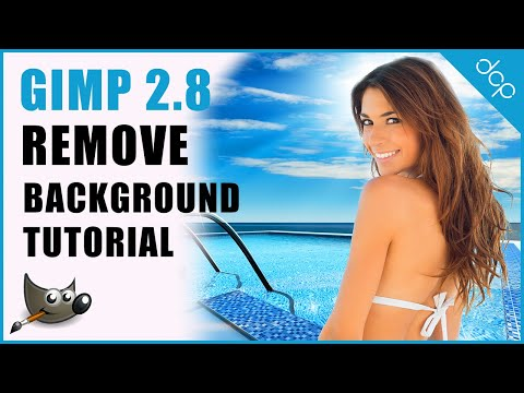 GIMP 2.8 Transparent Background | Remove Background | Image Editing
