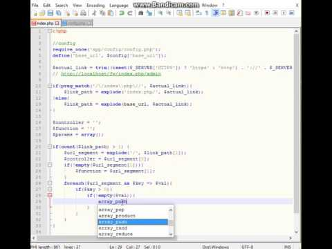 Create OOP PHP Framework MVC for 80 minutes Part 2