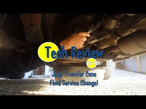 Jeep Grand Cherokee Transfer Case Fluid Service