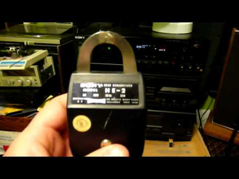 How To Clean/Demagnetize Cassette Tape Deck Heads Part 1