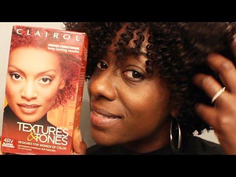 Fall Hair Color Tutorial| Plum Burgundy Red w/WOWAfrican