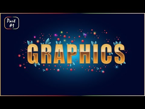 Adobe illustrator cc 2017 Tutorial - How To Design - Text Effect With Vector Design Part #1