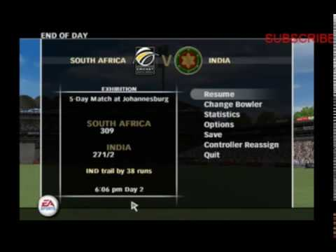 EA Gameplay South Africa vs India, 2nd Test Day 2 Highlights Ea gameplay