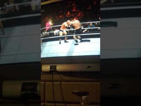Wwe2k17 ps3 game play sorry its bad