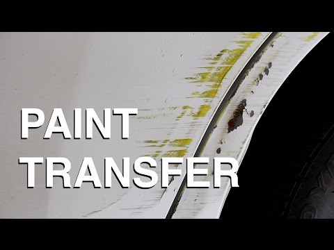 How to Remove Paint Transfer