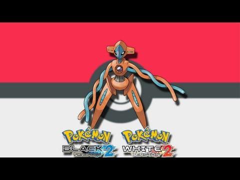 Como obtener a Deoxys Pokemon Black 2 & White 2 Evento ACABADO 