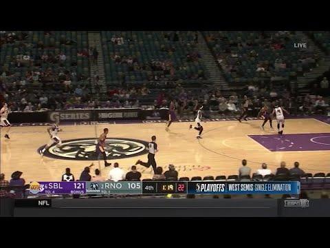 Travis Wear (23 points) Highlights vs. Reno Bighorns