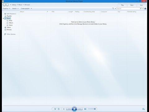 Windows 8.1-How to install Windows Media Player