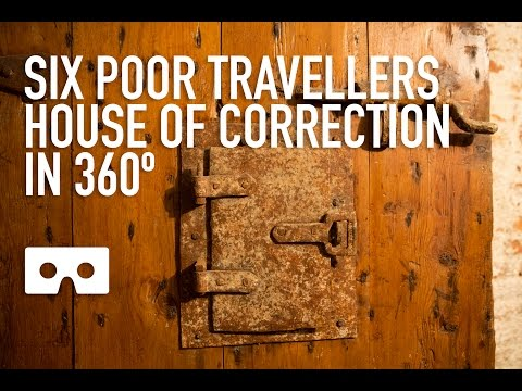 House of Correction below 6 Poor Travellers House, Rochester in VR 360º video