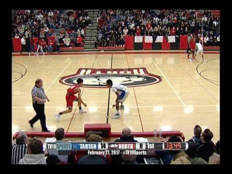 Boys Basketball - North vs Tartan - 2/21/17