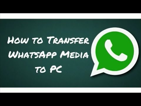 How to Transfer WhatsApp Media to PC