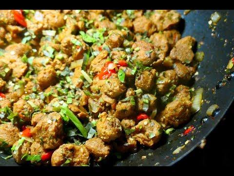 Stewed Soya Chunks | Taste of Trini