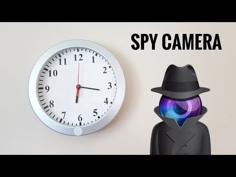 Become a Spy with this Hidden WiFi Camera!