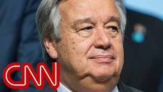 UN chief on Trump