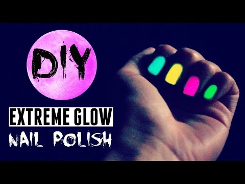 DIY Glow in the Dark Nail Polish ✵ BETTER than store-bought?! *:・゚