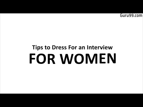 What to wear in interview for Women | Working women
