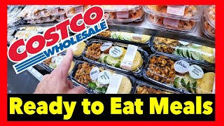 Costco prepared food meals ready to eat | COME SHOP WITH ME