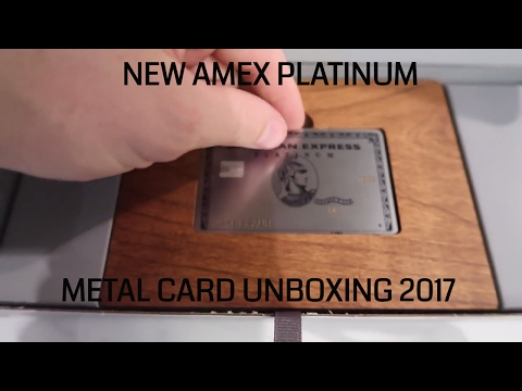 Amex Platinum METAL CARD UNBOXING!!!