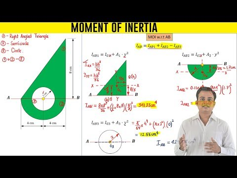 Moment of Inertia of a Composite Section_Problem 1