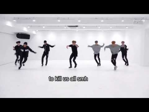 Dance practice blood sweat and tears Free Download In MP4