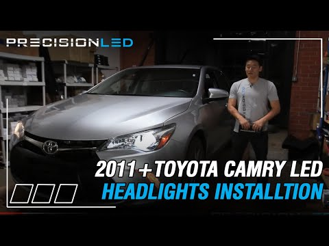Toyota Camry LED Headlights How To Install - 2011+