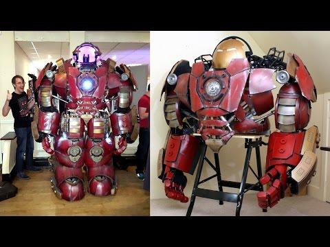 How to Build an Iron Man Hulkbuster Helmet & Suit | XRobots