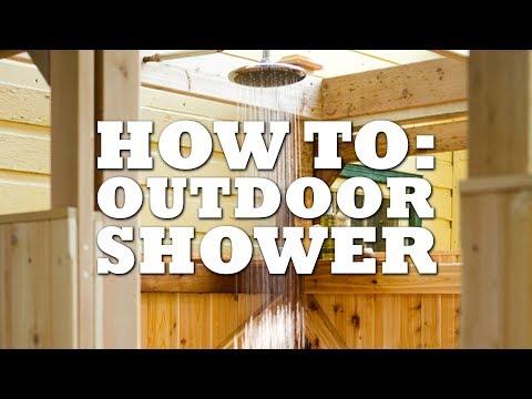 DIY Bucket Shower