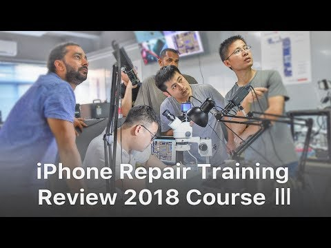 REWA iPhone Logic Board Repair Training Review - 2018 Course Ⅲ
