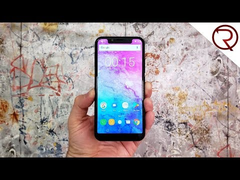 This looks like an iPhone X - Oukitel U18 UNBOXING & Benchmark Results