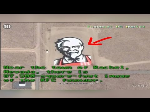 10 mysterious things found on google earth