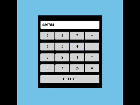 How to make calculator using html and css