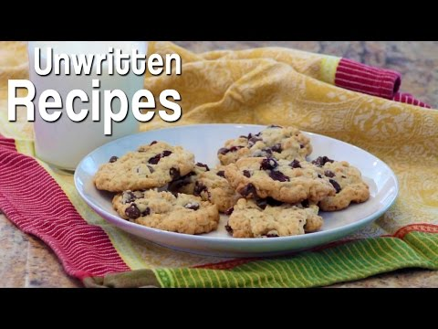 Unwritten Recipes: Chocolate Chip Cookie Treat