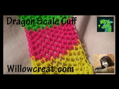 Dragon Scale Cuff by * ORIGINAL DESIGNER * Cheryl Mayberry Revised