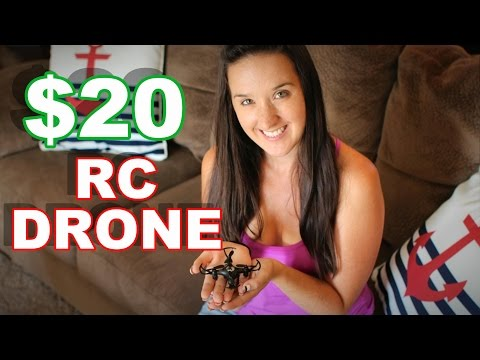 $20 RC Drone Better than $500 RC Drone? FQ777-951C Mini Camera Quadcopter - TheRcSaylors